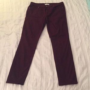 Loft Berry Jeans